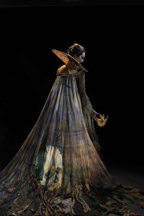 Clothing: Tevinter --- Death Head Costume by Katie Garden, Wimbledon Costume Design