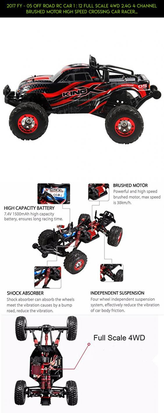 2017 FY - 05 Off Road RC Car 1 : 12 Full Scale 4WD 2.4G 4 Channel Brushed Motor High Speed Crossing Car Racer Desert Off-Road Red #camera #racing #kit #12 #wltoys #tech #plans #gadgets #products #1 #drone #technology #fpv #parts #shopping
