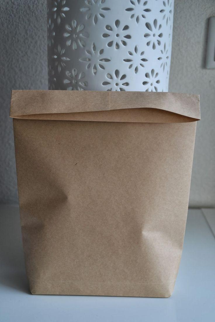 Papiertüten falten, Papiertüten selber machen, Anleitung Papiertüten falten