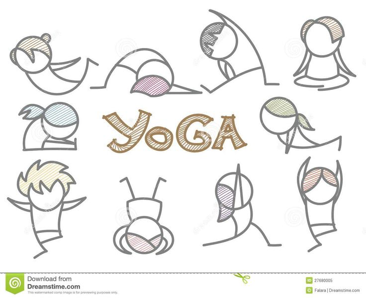 Line Drawing Yoga Pose : Best yoga cartoon ideas on pinterest back