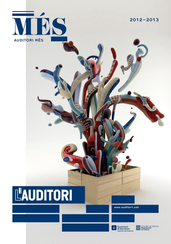 Poster Series for L'Auditori Campaign by Toormix