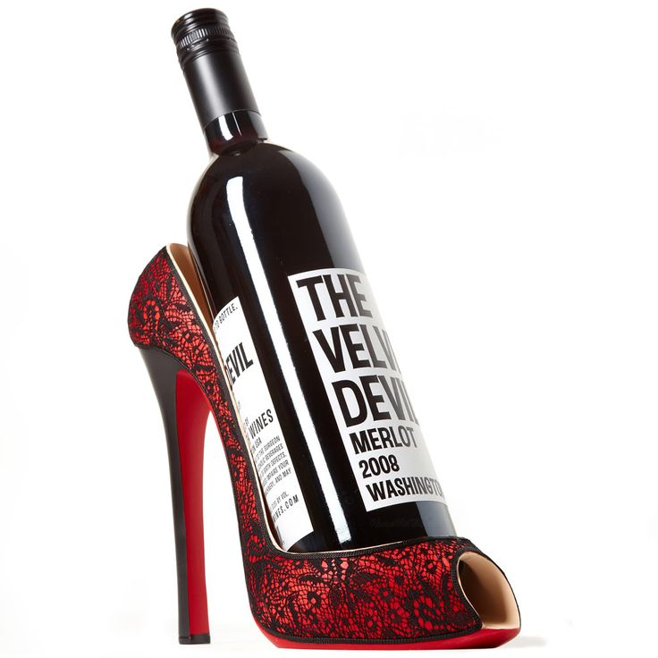 33 Best Shoe Wine Bottle Holders Images On Pinterest