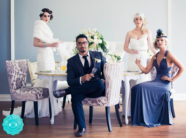 Wedding Planner Magazine | Great Gatsby | Marcie Costello Photography