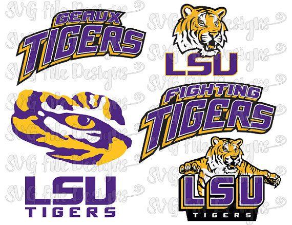 Lsu Logo Clip Art: University Of Louisiana LSU Fighting Tigers Football Logo