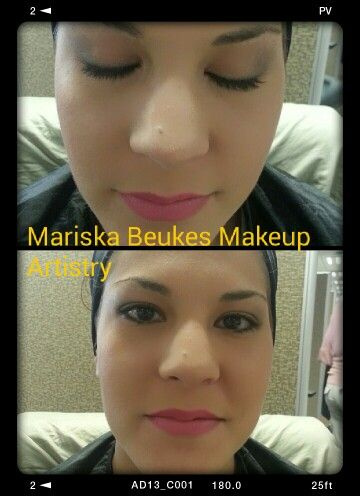Make up done for a student