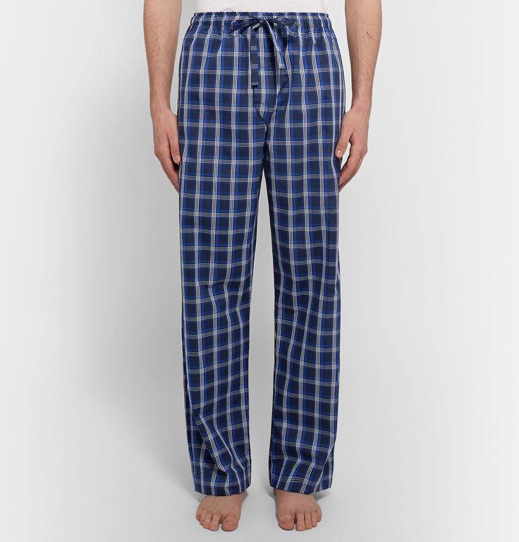 Derek Rose - Barker Checked Cotton Pyjama Trousers