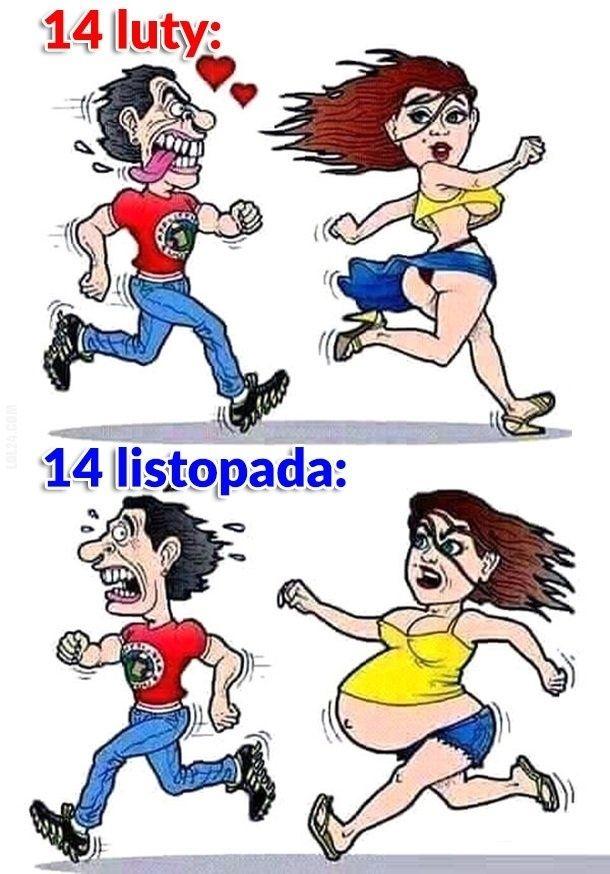 14 luty vs 14 listopada #14luty #14listopada #Walentynki
