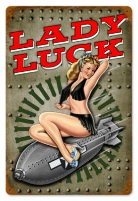 Great pose. sexy classy. pin up nose art | Aviation WW2 Pin Up Nose Art Sign - 24 gauge metal 18 x 12