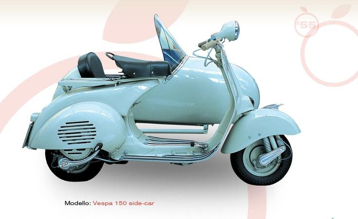 The Vespa sidecar was manufactured between the end of1948 and early 1949 following the success of the new 125cc engine. The Vespa 150 VL1 w...