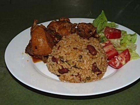 Moro de habichuelas y pollo guisado | Receta dominicana - YouTube