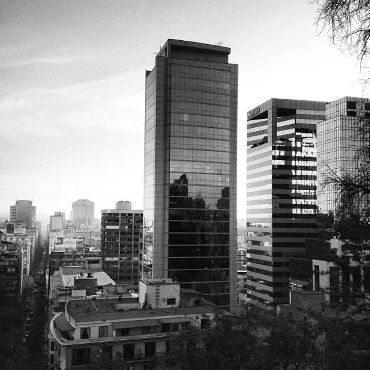 #Santiago de #Chile #BlackAndWhite