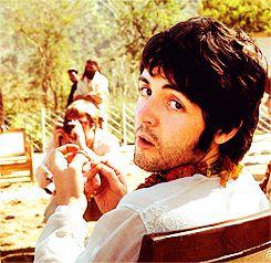 Paul McCartney (Photo taken by Pattie Boyd-Harrison)