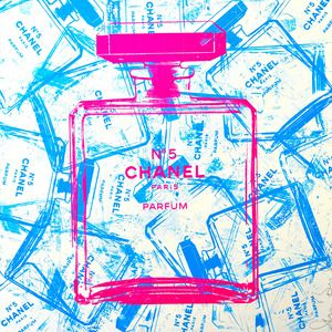 Blue bottles Chanel 5pcs ニューヨークギャラリー | 表参道 Shane Bowden | シェーン ボーデン
