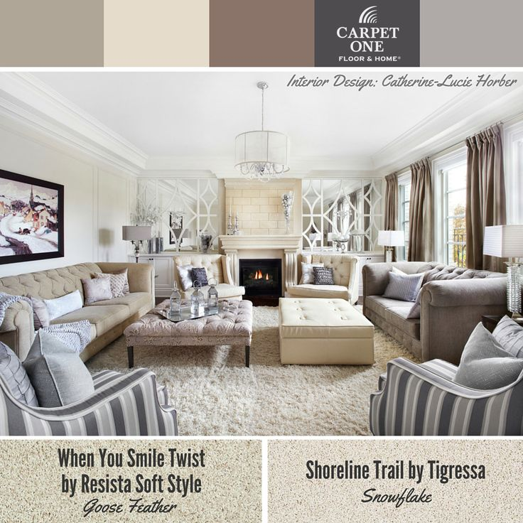 72 best COLOR Beige Home Decor images on Pinterest Living room