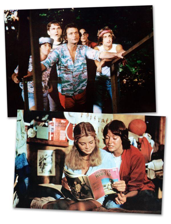Top image from left: Todd Hoffman, Keith Knight, Bill Murray, Jack blum, Matt Craven. Bottom: Kristine DeBell and Margot Pinvidic.