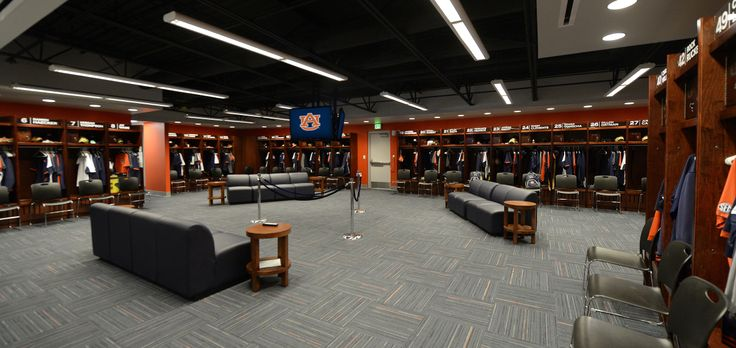 Baseball Locker Room Facilities Lockers Interior