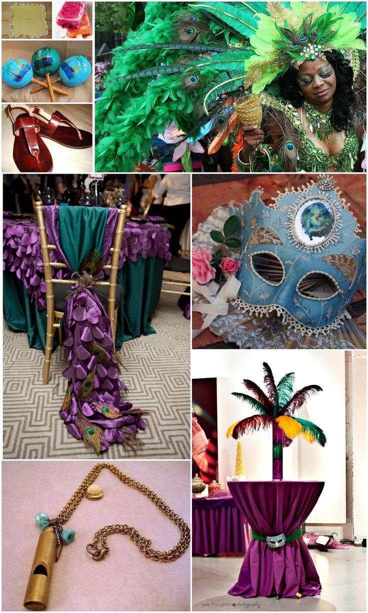 Carnival Wedding Theme