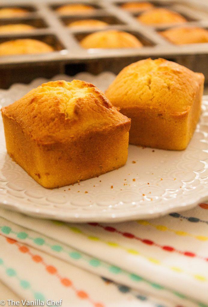Vanilla Lilikoi (Passion Fruit) Poundcake