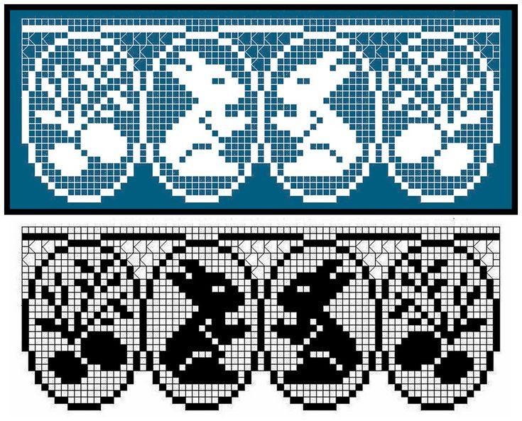 pinterest croche file colchas - Pesquisa Google