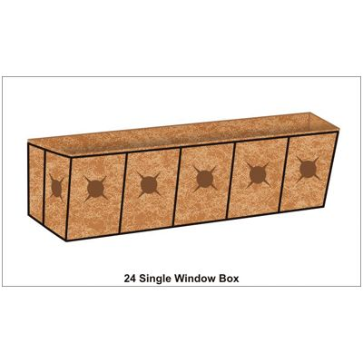 24 inch Window Box Planter Liner Set |Window Box Planters | Kinsman Garden