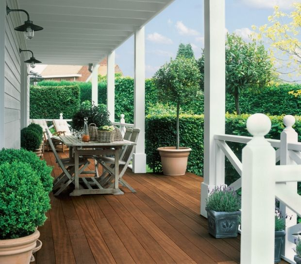 I want this terrace in my house:)