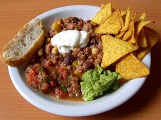 Mi cocina para ti: Receta CHILE CON CARNE