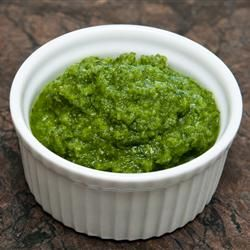 Mint Chutney Allrecipes.com   i love this with tandori chicken and naan oh my goodness yallllll