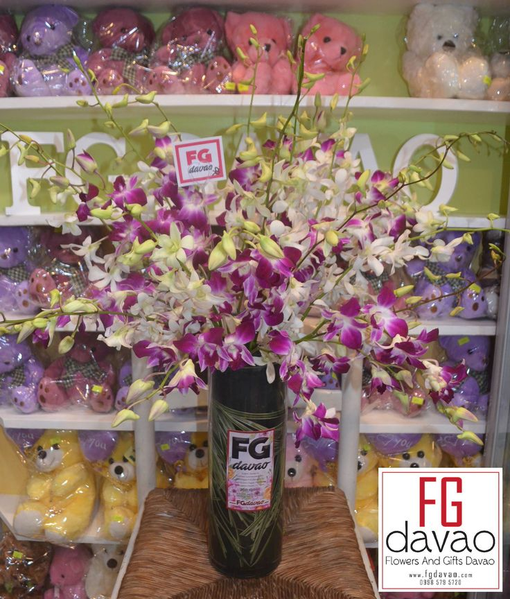 Orchids in A Vase   3 Dozen Yellow Roses in A Vase Flowers in A Vase and Chocolates  www.FGDavao.com  #flowers #flowersinavase #flowerarrangement #floral #fleurs #florist #flowershop #fgdavao #flowerdelivery #sendflowers #flowersandgifts