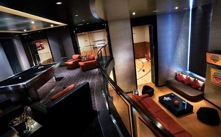 Palms hardwood suite with full indoor basketball court