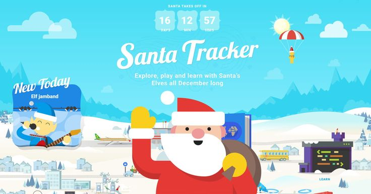 Google's Santa Tracker offers the 'largest multiplayer snowball fight ever'