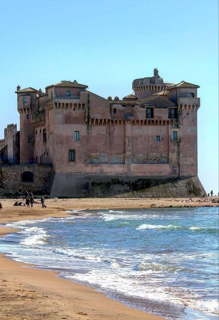 Castello di Santa Severa, Lazio   Viaggi, Luoghi, Luoghi ...