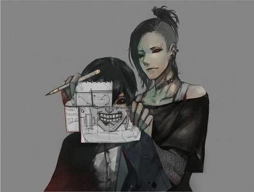 Tokyo ghoul - uta *Q* and ken