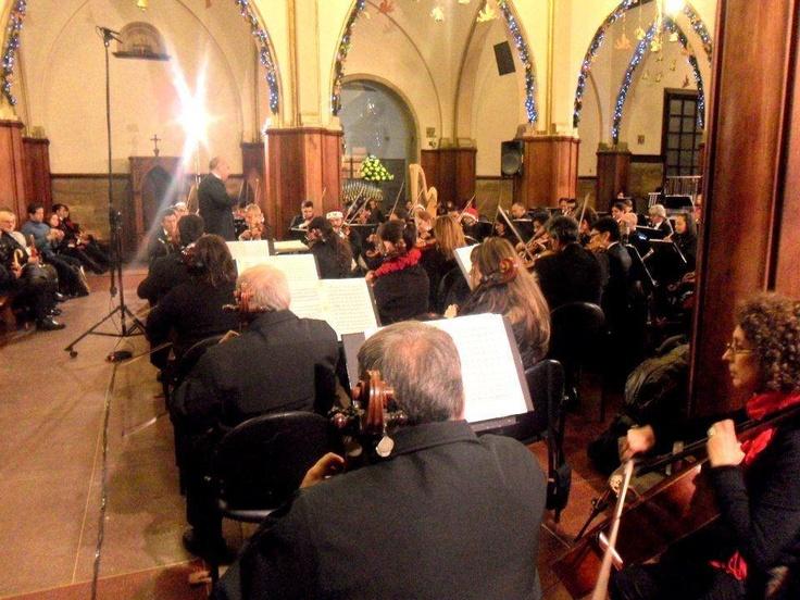 """#MejoresMomentosOFB """"@cristiangmusic Concierto de Navidad de 2011 en el Santuario de Monserrate ¡estuvo genial! :)"""""""