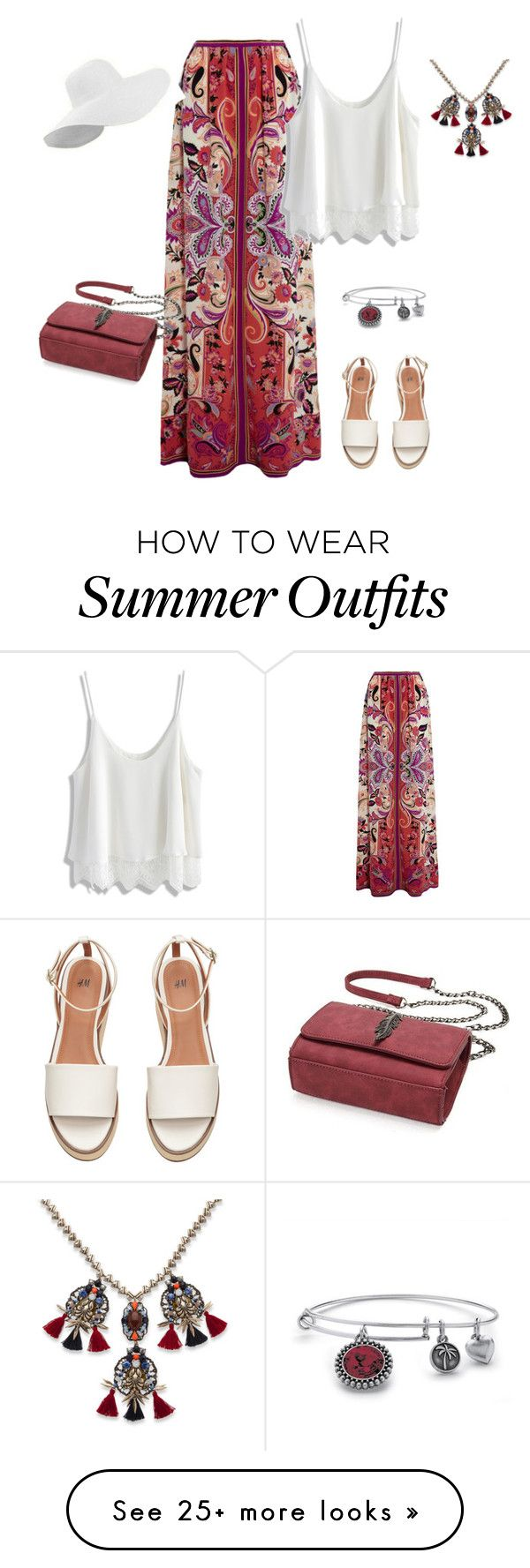 """outfit 4032"" by natalyag on Polyvore featuring Etro, Chicwish and Palm Beach Jewelry"