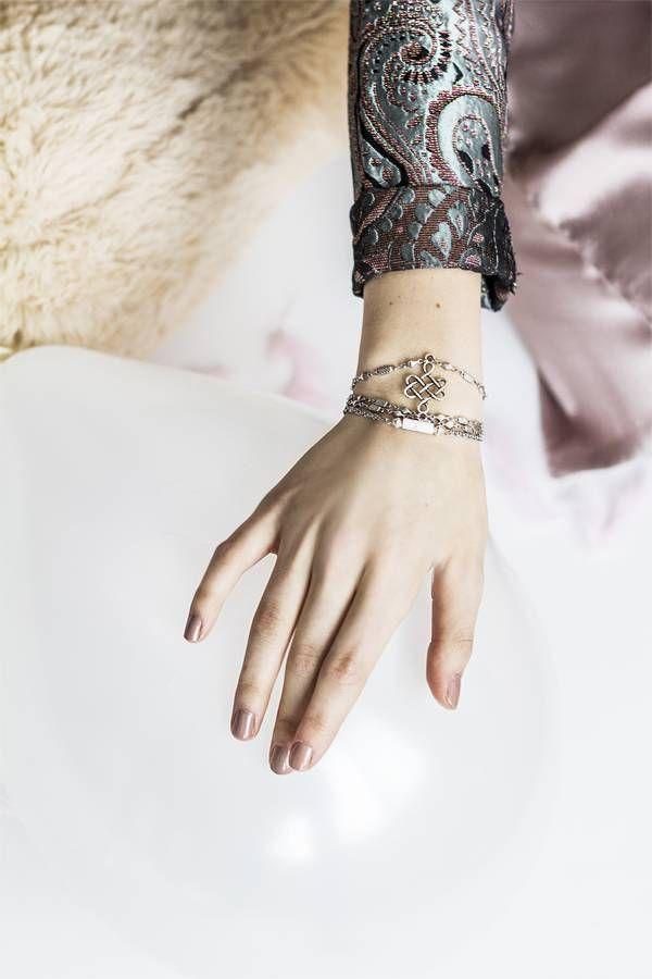 DANGLE - Bracelet (Silver)