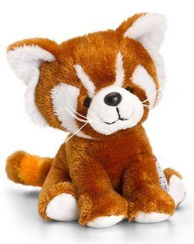 Keel Toys roter Panda Tails, brauner Katzenbär, Kuscheltier Pippins ca. 14 cm