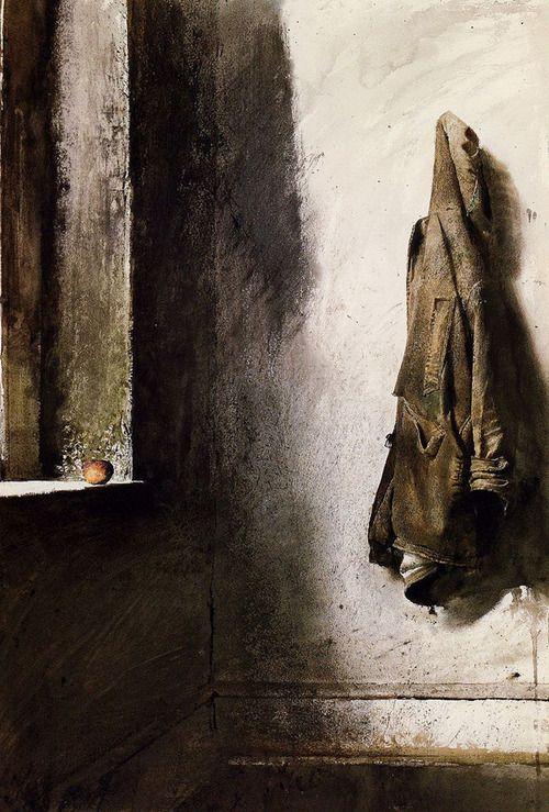 Andrew Wyeth - Willard's Coat (1968)