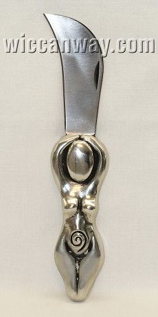 Spiral Goddess Herb Knife - WiccanWay.com Witchcraft Supplies (would love this but it's a bit on the pricey side)