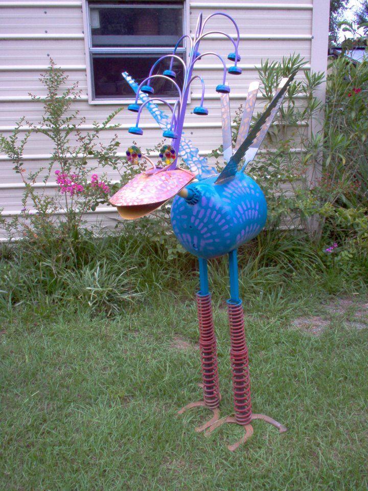 452 Best Yard Art Images On Pinterest Garden Art Garden