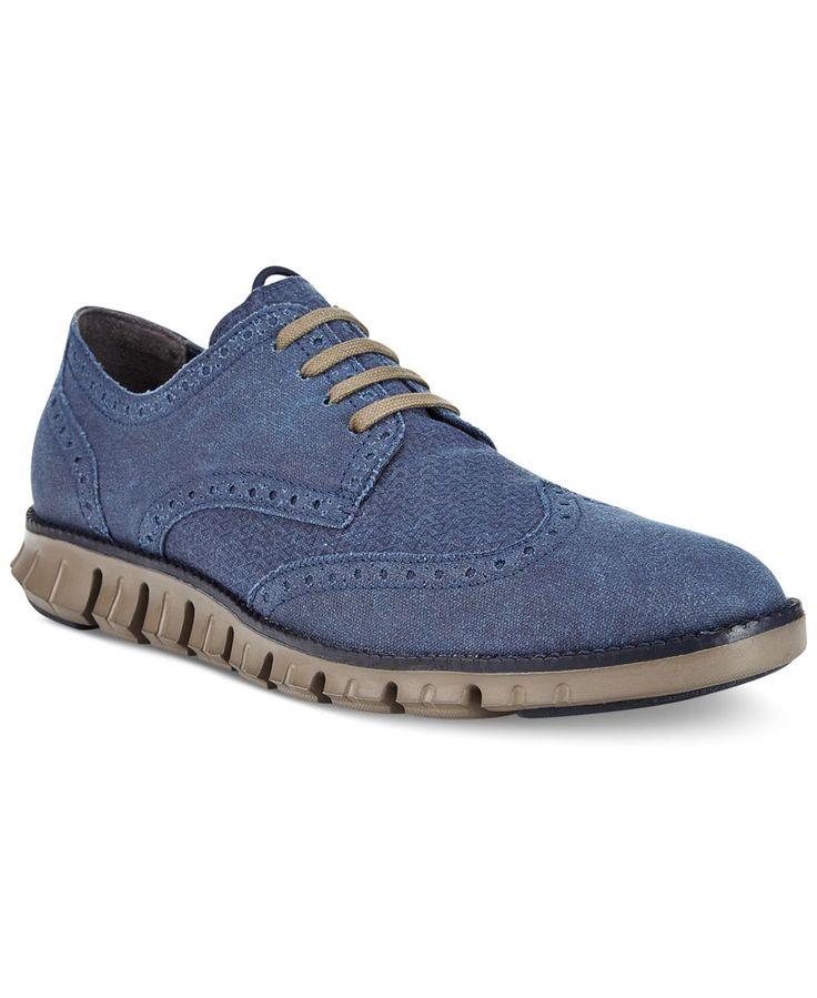 Cole Haan Men's Zero Grand Deconstructed Wing Tip Sneakers - All Men's Shoes  - Men - Macy's