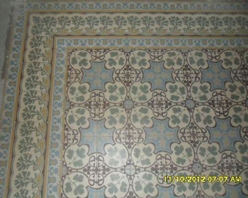 C52 oude,antieke vloer