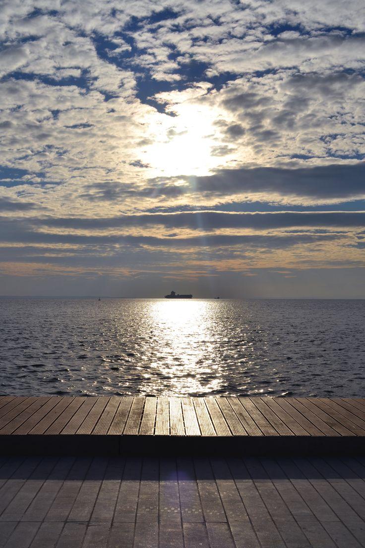 Νέα Παραλία #thessaloniki   Χριστουγεννιάτικη βόλτα στη Θεσσαλονίκη