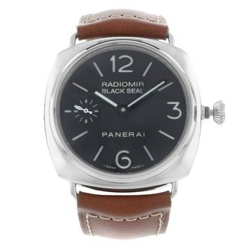 Panerai Black Seal Firenze 1860 PAM00183 Hand Wind Stainless Steel Mens Watch. Get the lowest price on Panerai Black Seal Firenze 1860 PAM00183 Hand Wind Stainless Steel Mens Watch and other fabulous designer clothing and accessories! Shop Tradesy now