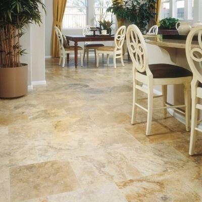 travertine flooring design