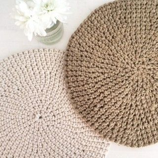 SET X6 INDIVIDUALES CROCHET - Comprar en Canvas Home