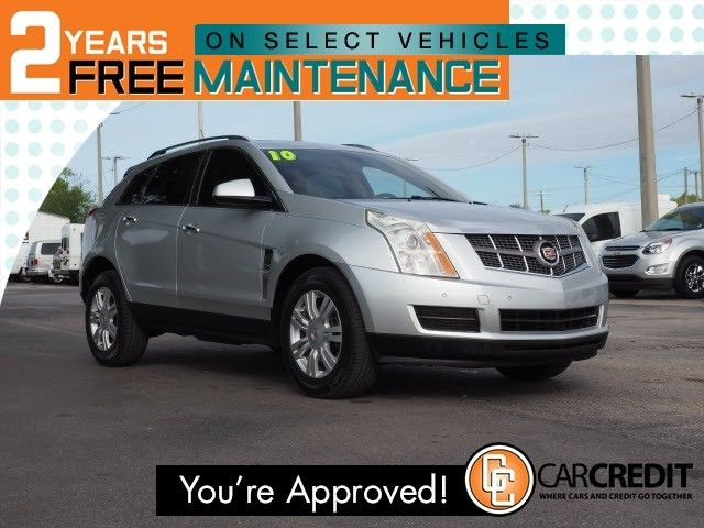 Used 2010 Cadillac Srx Luxury Collection Suv For Sale Caddys
