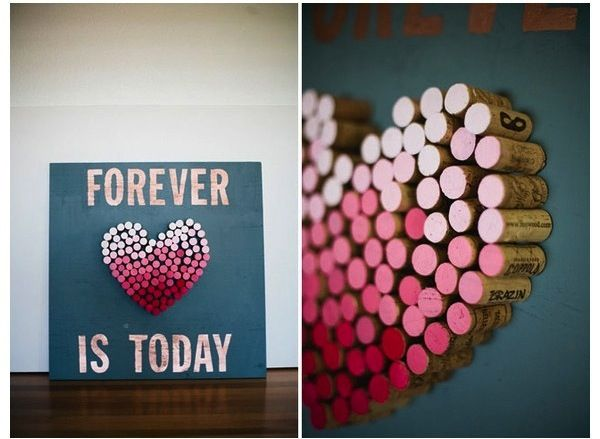 Love sur la comète, blog mariage, cork, diy