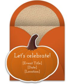 Free Fall party invitations. Tons of beautiful online invitations you can personalize and send via email.