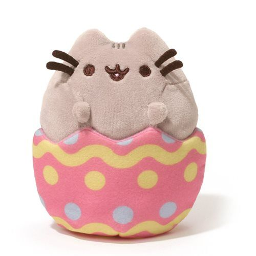 Pusheen the Cat Pusheen Easter Egg 4 1/4-Inch Plush - Gund - Pusheen - Plush at Entertainment Earth, <3.