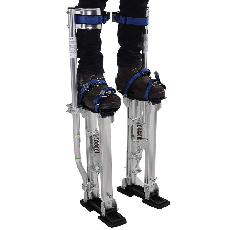 USA Delivery 24-40 Inch Drywall Stilts Aluminum Tool Stilt For Painting Painter Taping